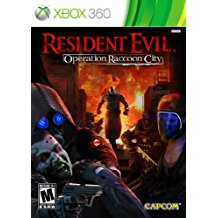 360: RESIDENT EVIL OPERATION RACCOON CITY (COMPLETE)
